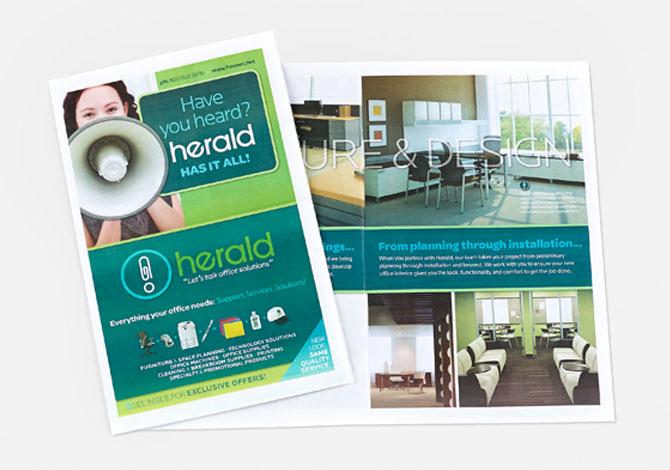 Herald brochure