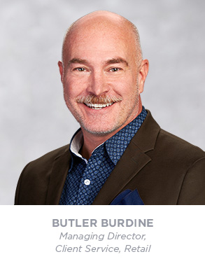 Butler Burdine - Senior Vice President - Account Management