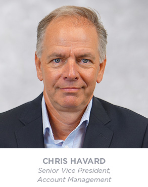 Chris Havard - Senior Vice President - Account Management