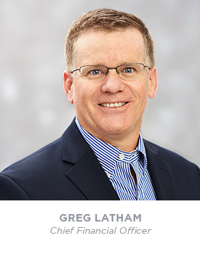 Greg Latham - Chief Financial Officer