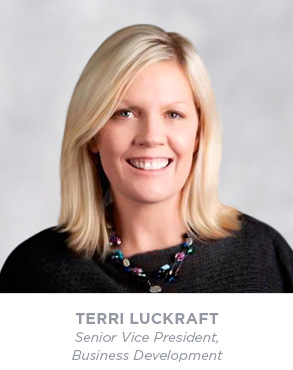 Terri Luckraft - Senior Vice President - Business Development
